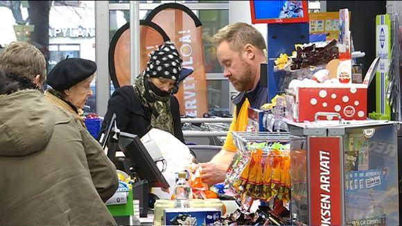 K-market Helsingin Käpylässä.