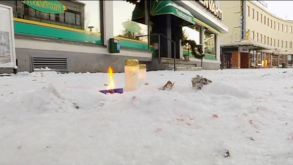 Видео: Kynttilöitä ravintola Vuoksenvahden edustalla Imatralla.