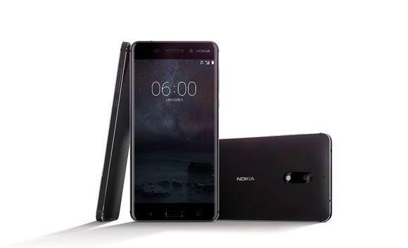 Nokia 6 -älypuhelin.