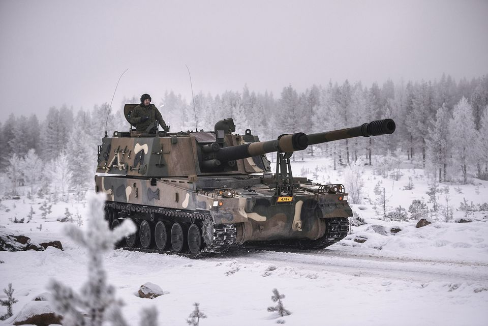 1c08278c763 Estonia has said that it will join Finland to purchase heavy artillery from  South Korea. Finland is expected to spend at least 100 million euros in the  ...