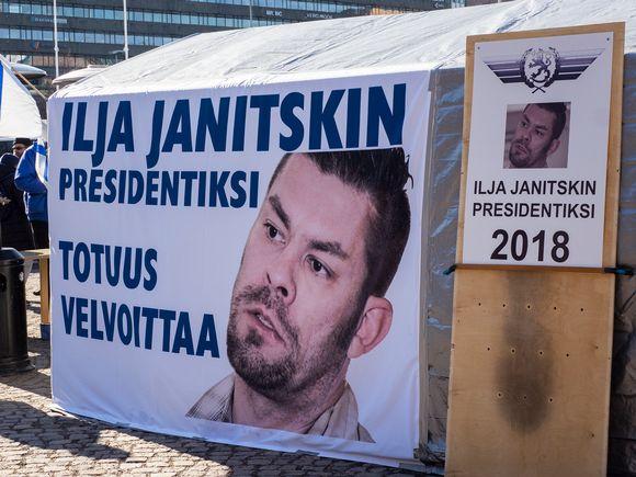 Ilja Janitskin presidentiksi panderolli.