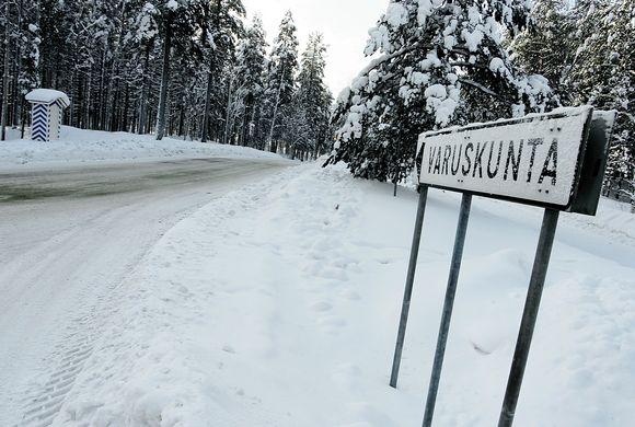 Varuskunta-alue Pohjois-Karjalassa.