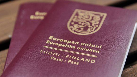 Suomen passi.