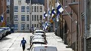 Suruliputusta Katajanokalla presidentti Mauno Koiviston valtiollisten hautajaisten aamuna.