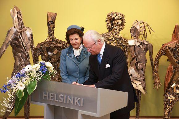 Pohjoismaiden valtionpäämiesten vierailu Helsingissä 01.06.2017