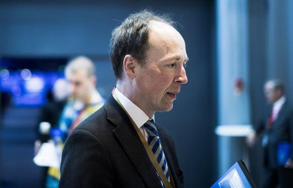 Jussi Halla-aho on perussuomalaisten uusi puheenjohtaja.