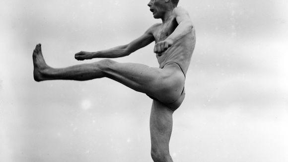 Kestävyysjuoksija Paavo Nurmen voimisteluohjelma 1925.