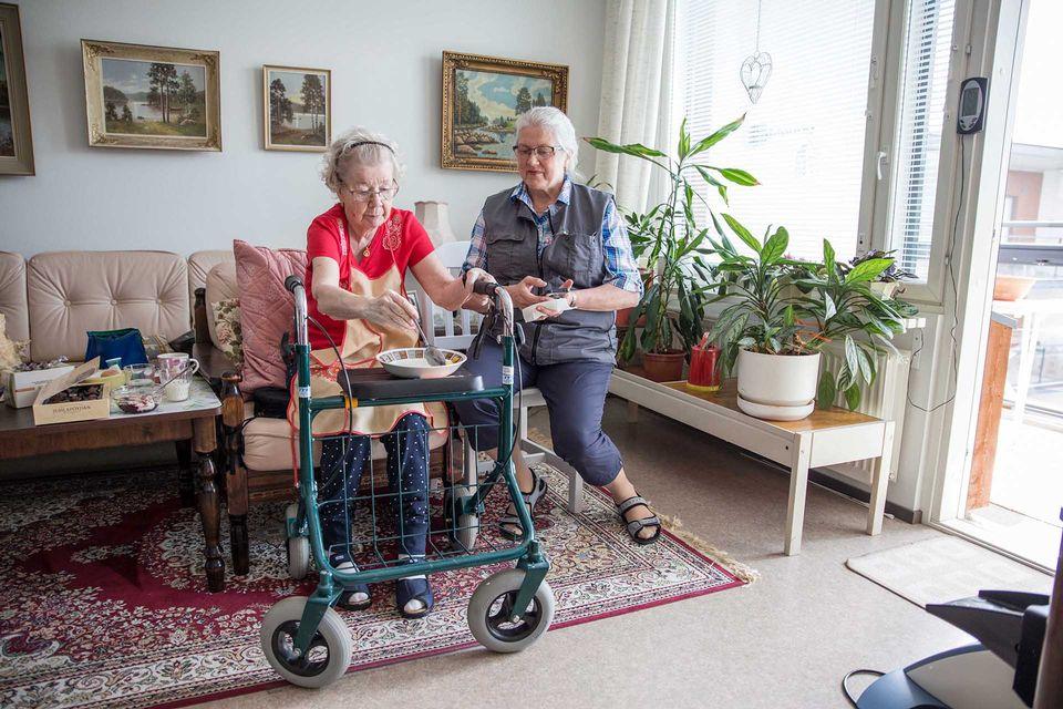 Vanhusten Kotihoito