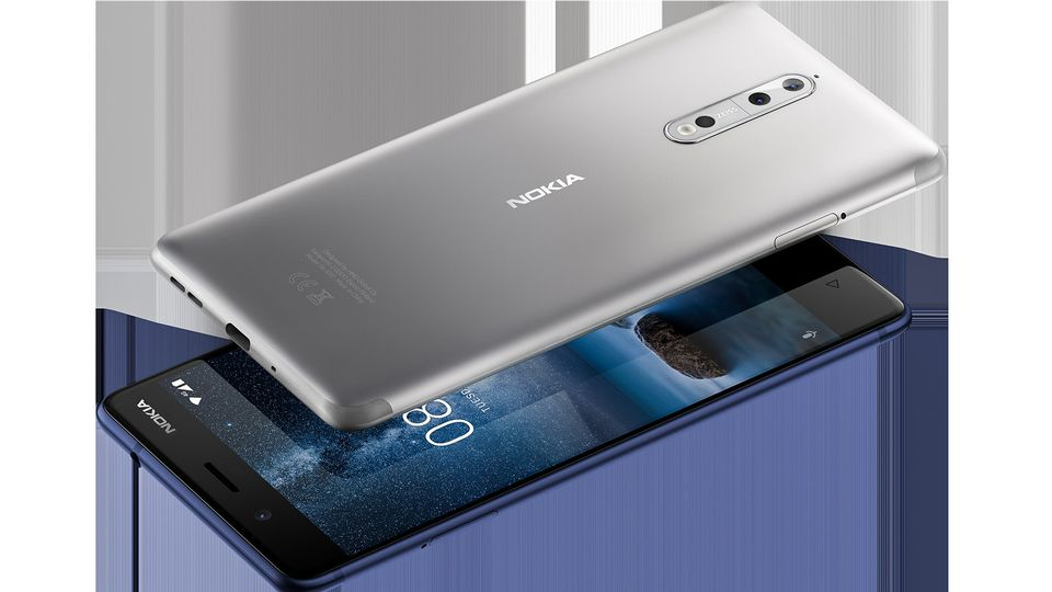 Nokia 8 Launching Today - Price & Specifications