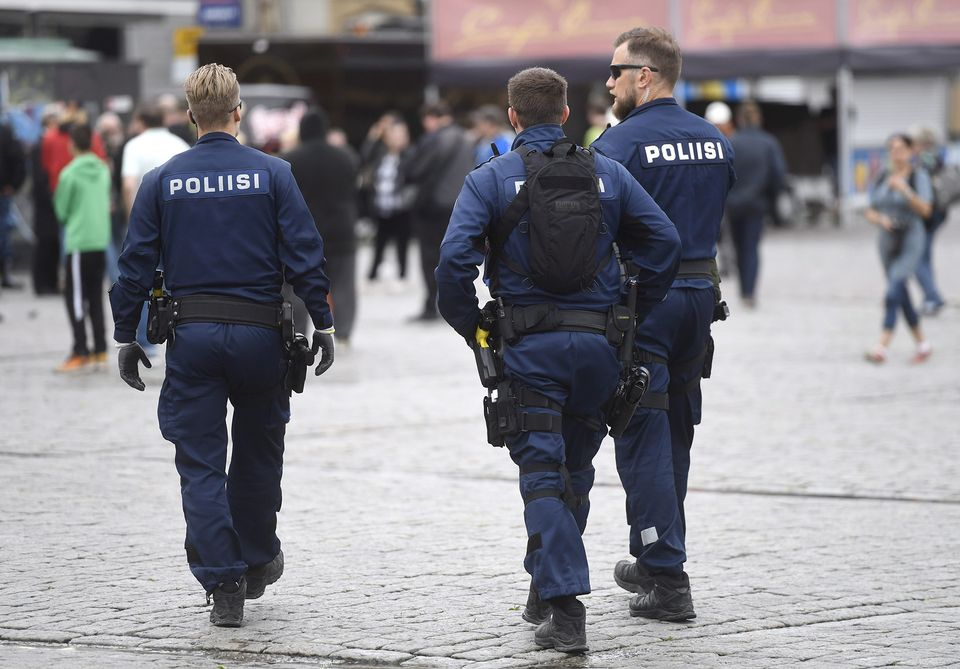 Finnish police request detention of five suspects arrested over knife attack