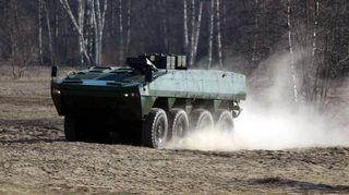 Patria AMV 8x8 -panssariajoneuvo.