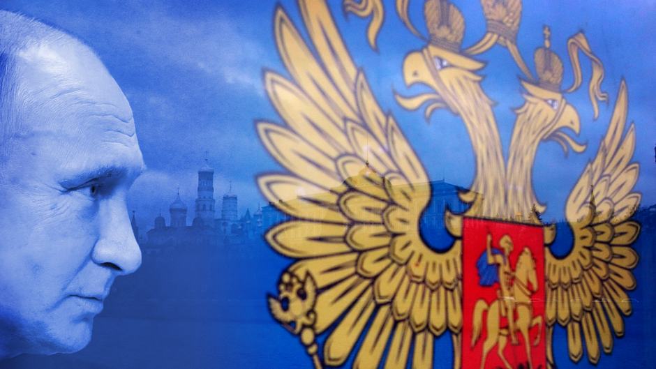 Putin ja Venäjän vaakuna
