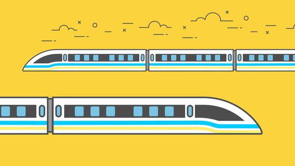 Piirroskuva junasta.