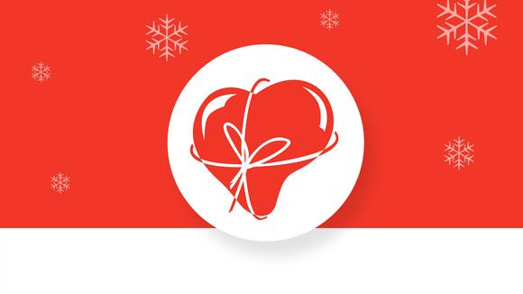 Hyvä joulumieli keräyksen logo.