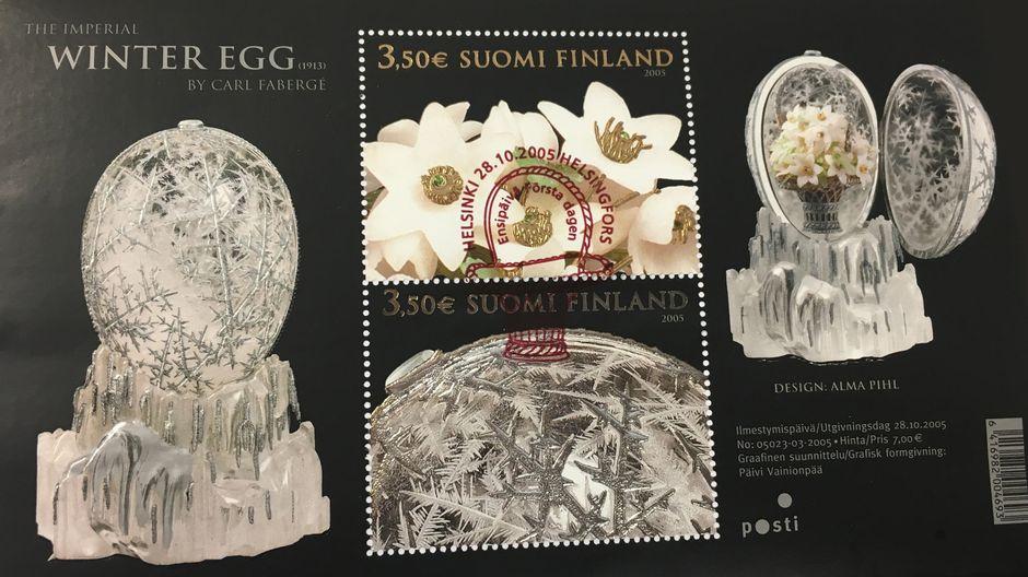 Fabergén Talvimunapostimerkit