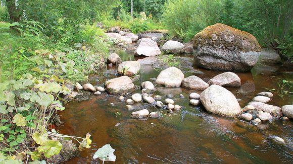 Vaalimaanjoki, Miehikkälä