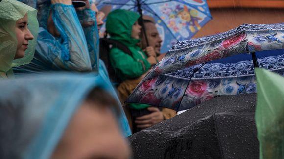 Taistelu Nevalla, Pietari, keskiaika, sade, sateenvarjo