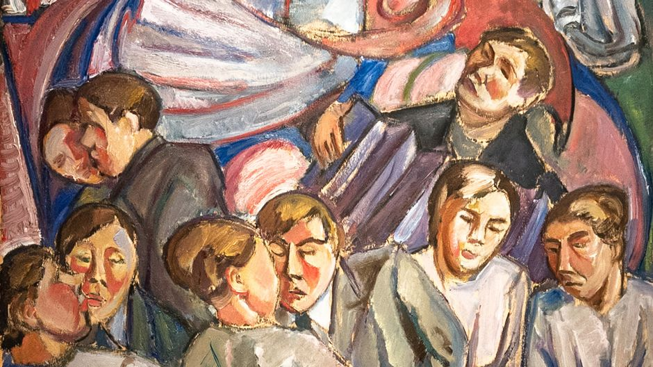 Tyko Sallinen: Piruntanssi, 1919.