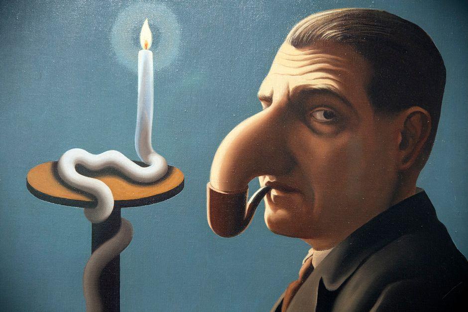 Видео: René Magritte, Filosofian valossa, 1936