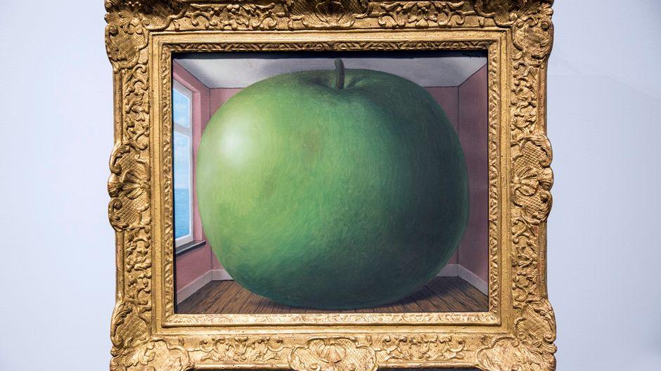 René Magritte, Kuunteluhuone, 1958, Amos Rex