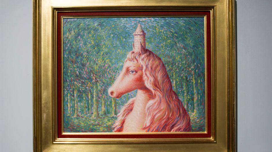 René Magritte, Loistoajatus, 1963-64, Amos Rex
