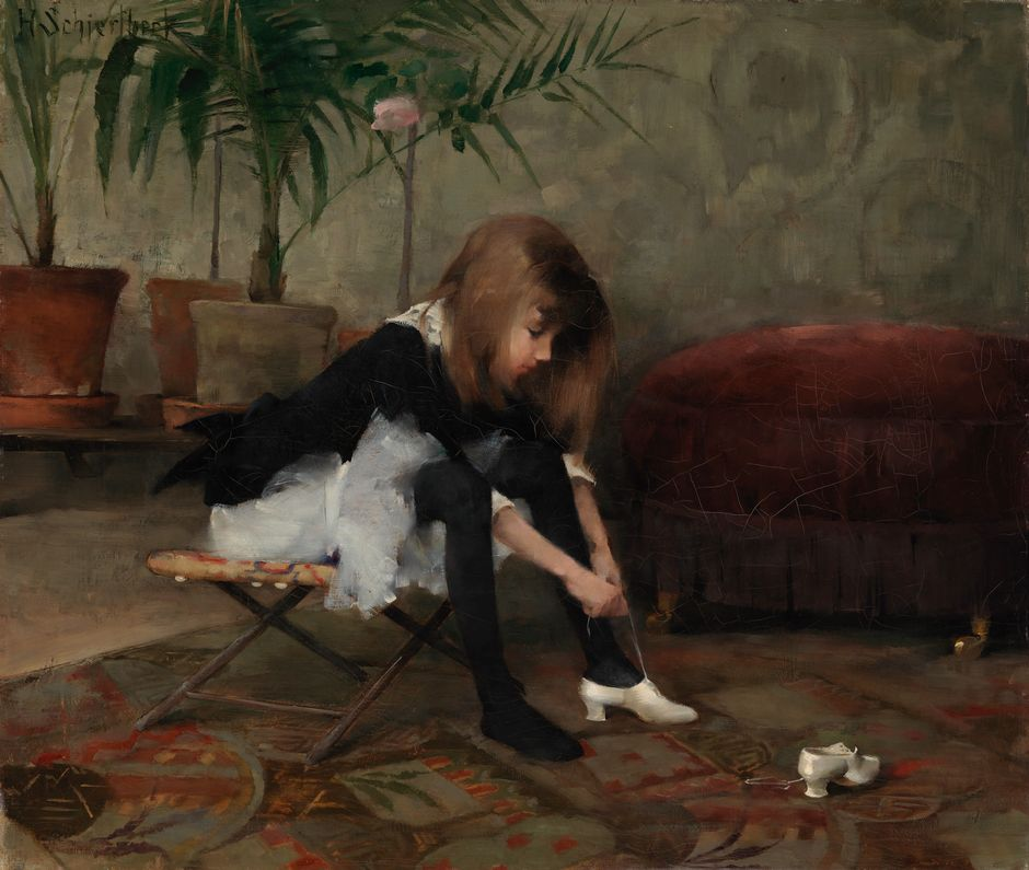 helene-schjerfbeck-tanssiaiskengat 1882