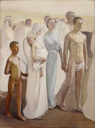 Magnus Enckell: Ylösnousemus
