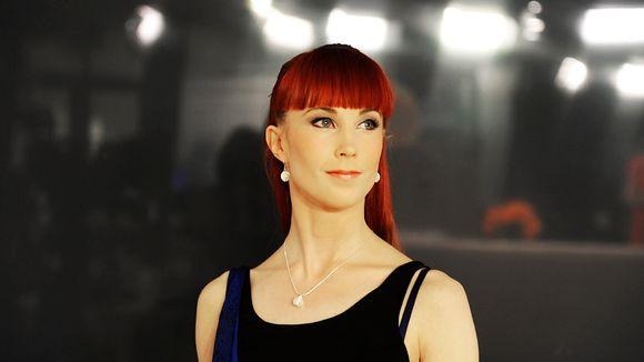 Helsingin kansainvälisen balettikilpailun seniori-sarjaan osallistuva tanssija Emilia Karmitsa.