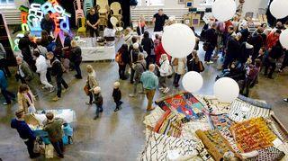Design Market Helsingin Kaapelitehtaalla.