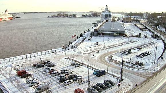 Guggenheimin museon mahdollinen tontti Helsingin Eteläsatamassa.
