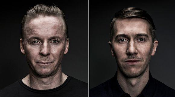 Eero Aho ja Jussi Vatanen