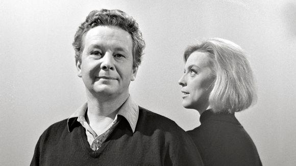 Lasse Pöysti ja Birgitta Ulfsson marraskuussa 1966.