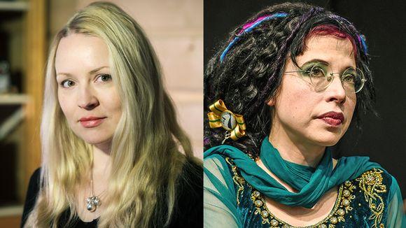Katja Gauriloff ja Sofi Oksanen.