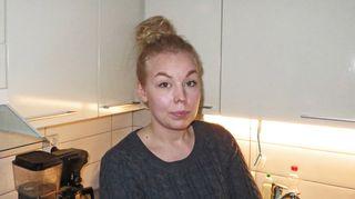 Ruokahävikkirinki Kuopio -Facebook-ryhmän perustaja Tiia Tuovinen.