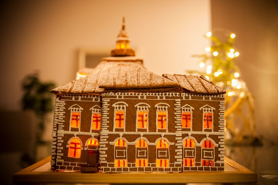 Finland S Most Spectacular Gingerbread House Is From Kuopio Yle