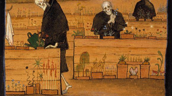 Hugo Simberg: Kuoleman puutarha (1896)