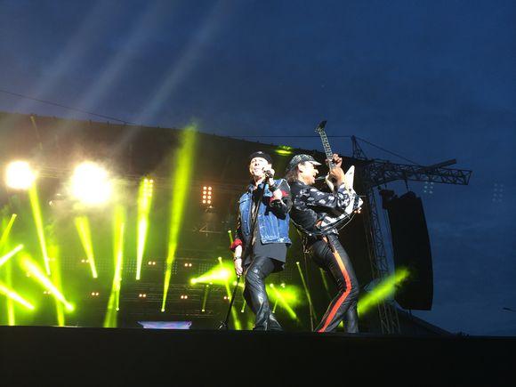 Scorpions esiintyi Lahden yössä