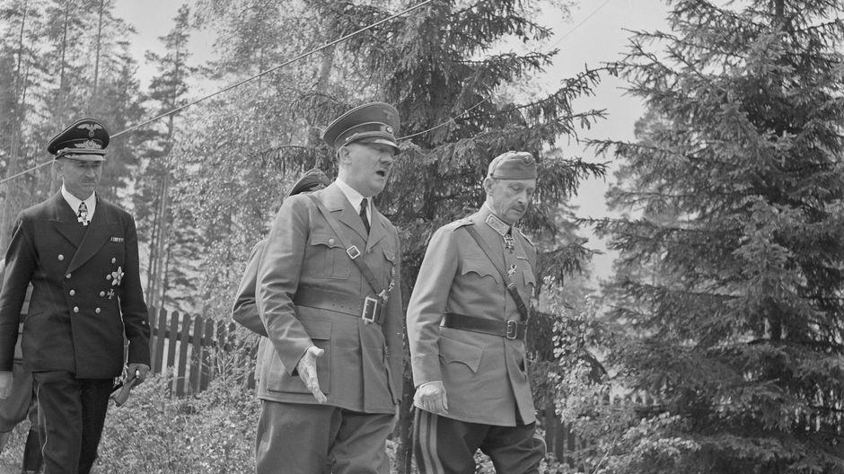 Adolf Hitler kävele Ruokolahdella