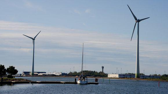haminan energia tuulivoimala hamina