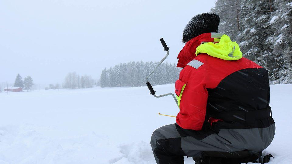Новогодняя рыбалка в финляндии