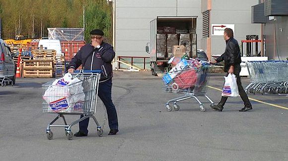 Venäläiset ostoksilla