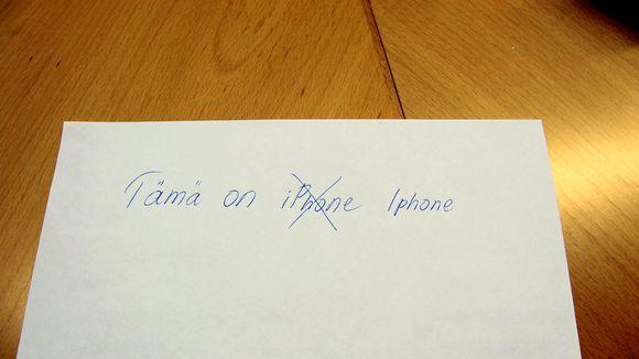Iphone pitäisi kirjoittaa isolla alkukirjaimella