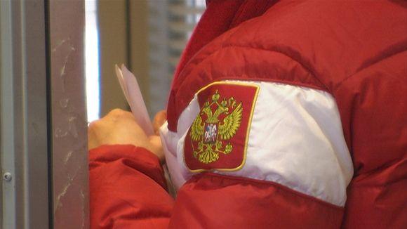 Venäjä turisti raja venäläinen tulli Nuijamaa venäjän vaakuna