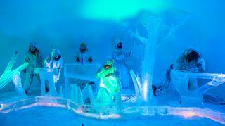 SounDome soittaa jääiglussa