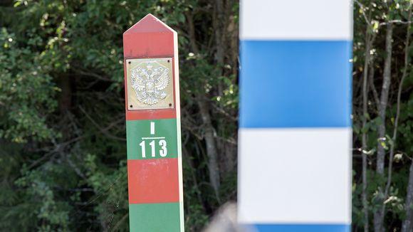 Venäjän rajapylväs
