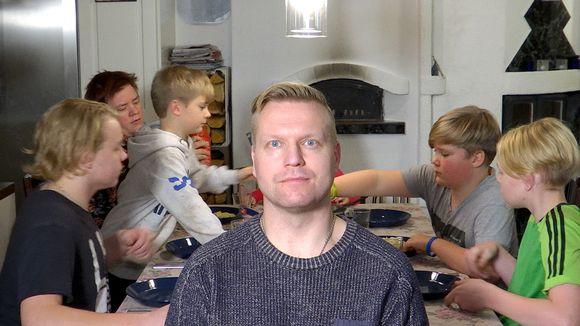 Janne Nordman ja perhe