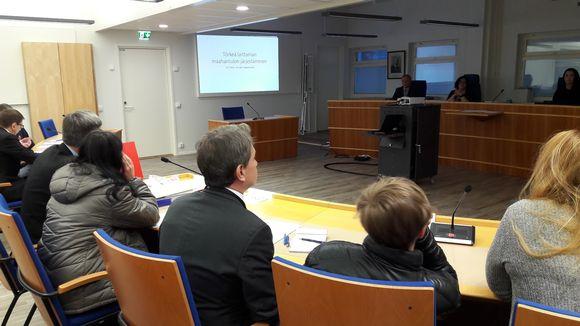 Saimaan kanavan ihmissalakuljetustapausta käsitellään Etelä-Karjalan käräjäoikeudessa Lappeenrannassa.