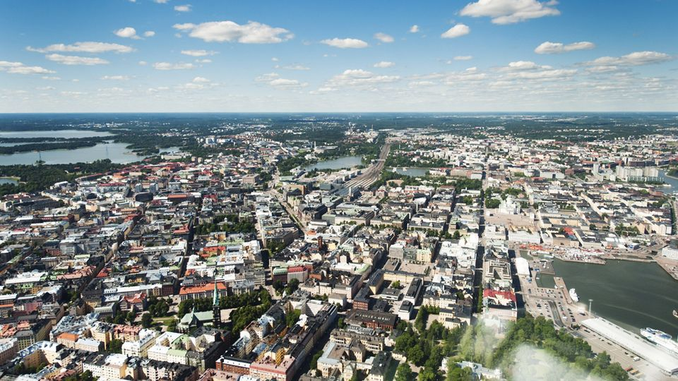 Ilmakuva Helsinki