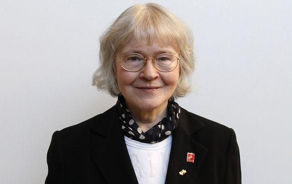 Kuurojen Liiton entinen toiminnanjohtaja Liisa Kauppinen.