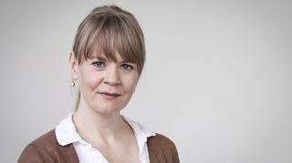 Kapellimestari Susanna Mälkki Helsingin Oopperatalolla keskiviikkona 13. elokuuta 2014.